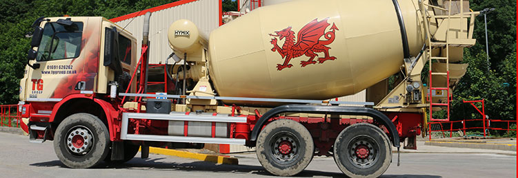 Our Concrete Delivery Fleet | TG Concrete
